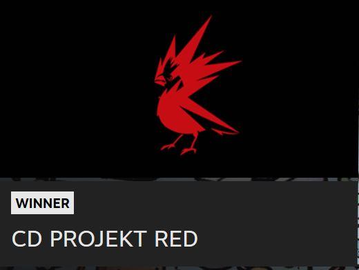 The Steam Awards-Najbolji Developer